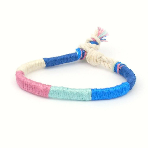 jayciMay Tropical Breeze Twisted Colorblock Bracelet
