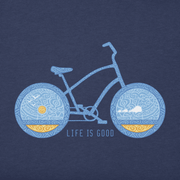 Life Is Good® Men's Primal Beach Cruiser Crusher Tee