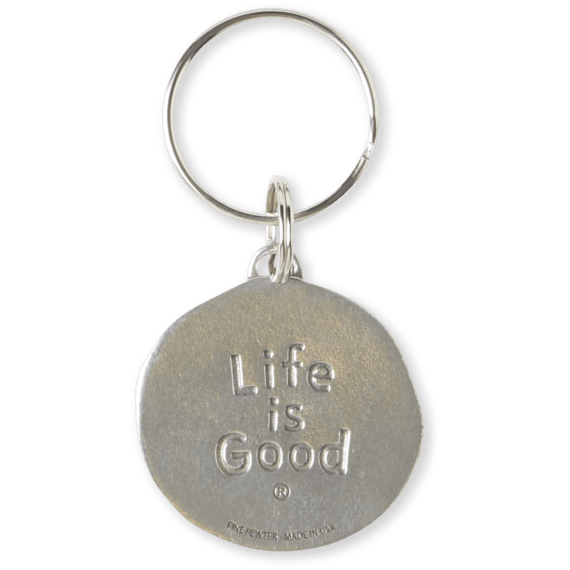 Life Is Good® Vibin' Ripples Keeper Keyring