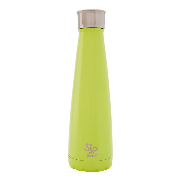 S'ip by S'well® Sour Apple Green Stainless Steel Water Bottle