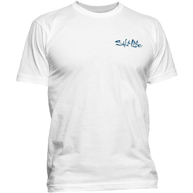 Salt Life® Finset Tee - White
