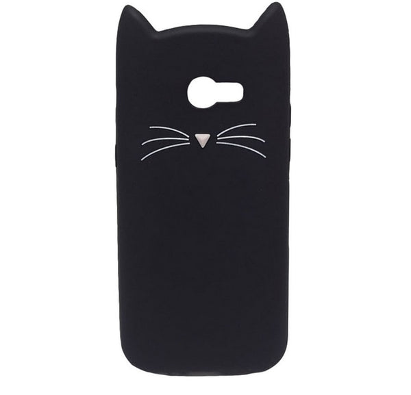 Cute Cat Soft Phone Case For Huawei
