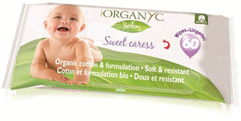 "Le Salviette Organyc Baby ""Sweet Caress"" (60 PZ)"