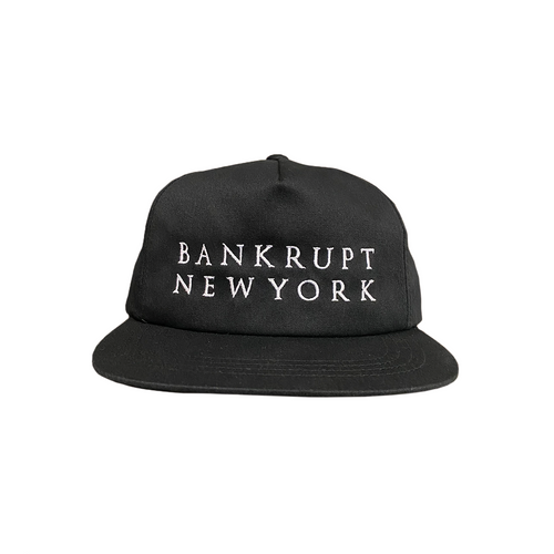Bankrupt Hat, Black