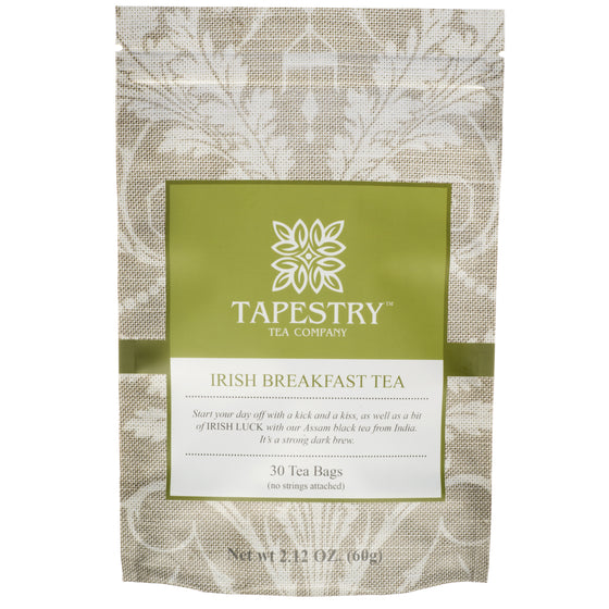Irish breakfast tea from Tapestry tea company
