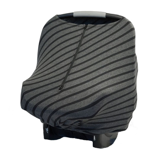 Baby Cover - Black Stripe - Baby Leaf Car Seat Covers Best Nursing Cover for New Moms