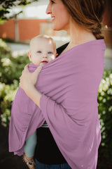 Baby Cover - Dusty Rose - Baby Leaf Car Seat Covers Best Nursing Cover for New Moms