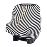 Baby Cover - Black & White - Baby Leaf Car Seat Covers Best Nursing Cover for New Moms