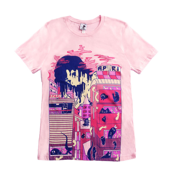 Pink SLIME CITY T-shirt