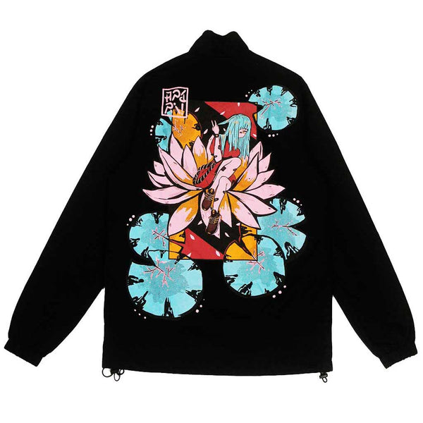 Black Lotus Anorak