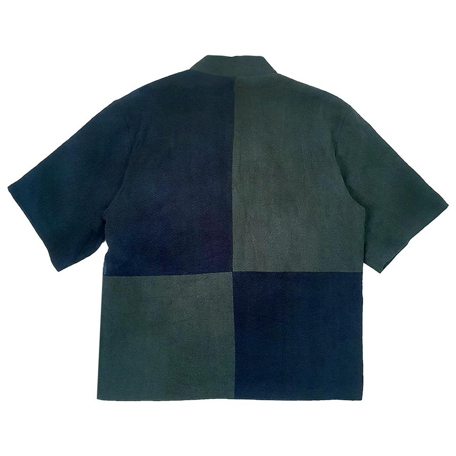 Colorblock Haori Forest/Navy