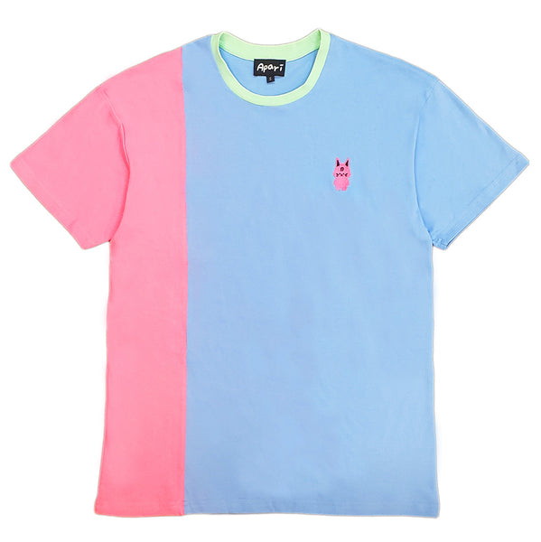 Kuo Split T-Shirt Blue