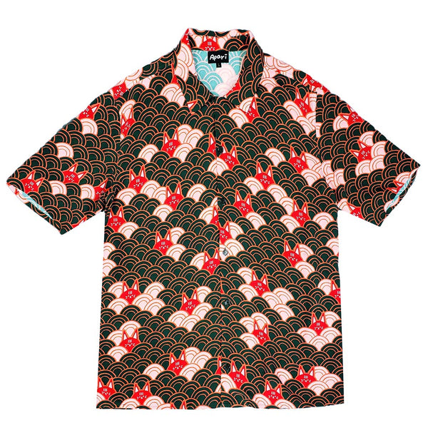 Kuo Wave Button Down Earth
