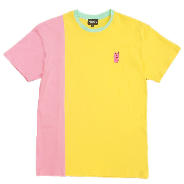 Kuo Split T-Shirt Yellow