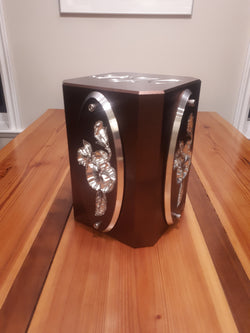 Memorial Cremation Urn w/Oval Panels