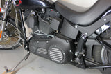 "Harley Davidson Derby and Inspection Cover set - ""Classic Contrast"""