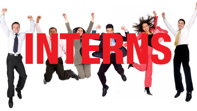 We Are Looking for Interns