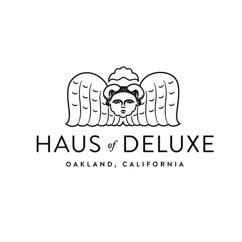 Hand drawn angel for Haus of Deluxe