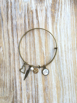 'Take Heart' Bangle