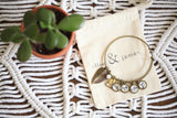 Mother's Day Name Bangle + Earrings