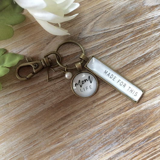 Mom Life Key Chain