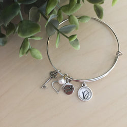 Custom Initial Bangle (10mm)