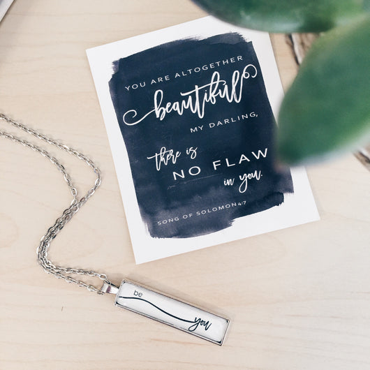 Be You - Bar Necklace