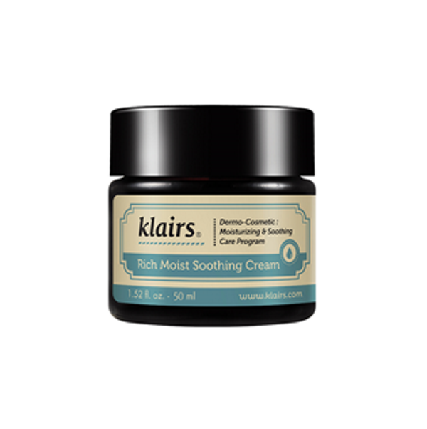 Rich moist soothing cream| Klairs| Bright skin. Cosmetics