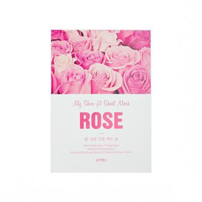 Myskin - Pit Sheet Mask (Rose) A'PIEU