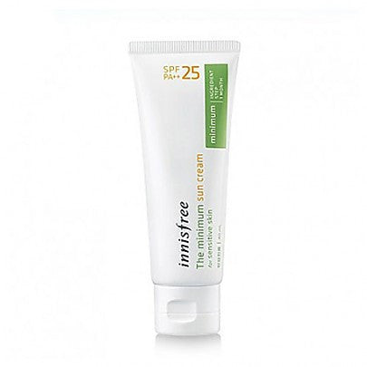 The minimum sun cream (SPF 25) for sensitive skin 40ml