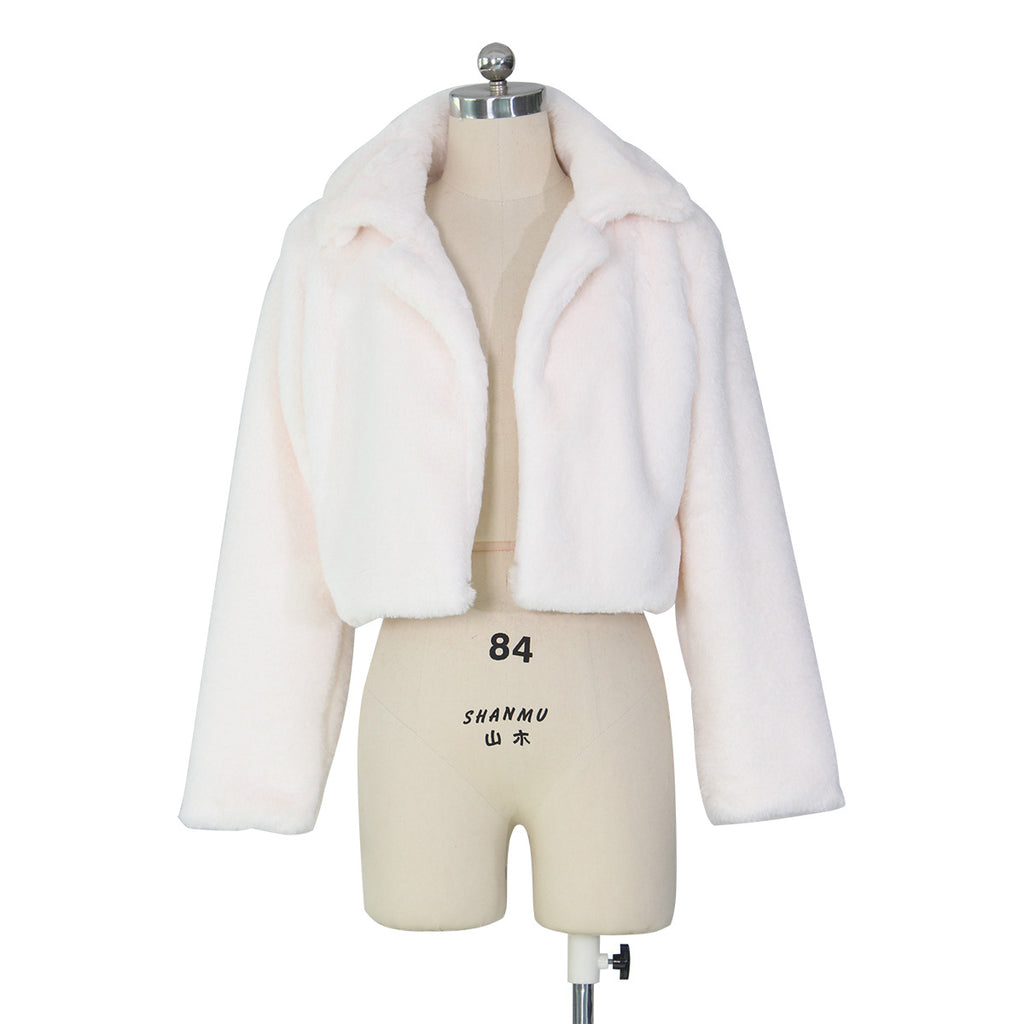 MB Fashion Solid White Jacket 7839 Damage last one