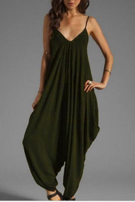 MB fashion Jumpsuit Green 1047