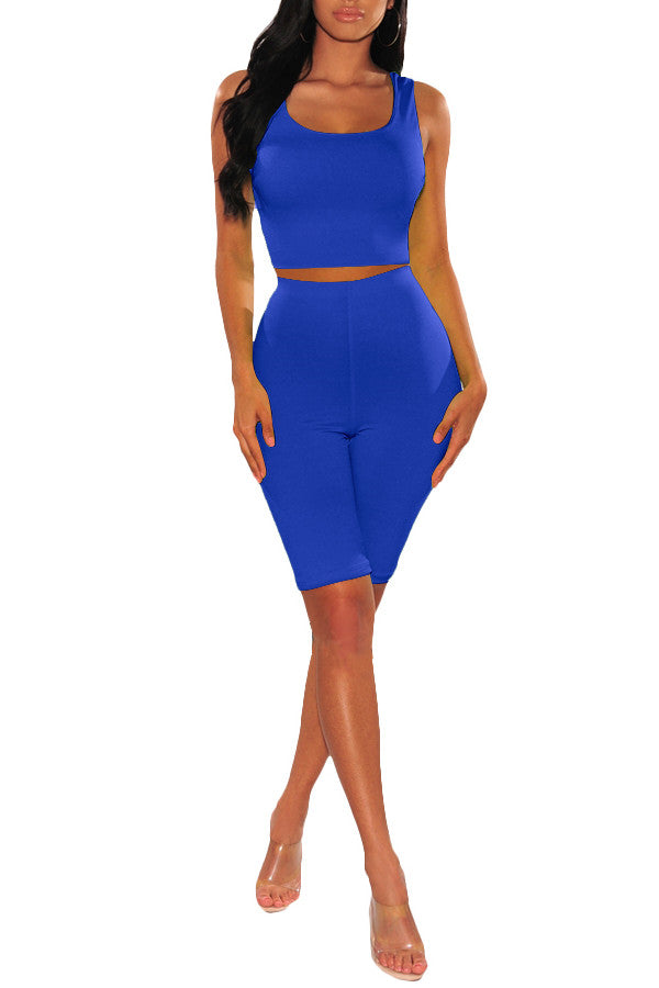 MB Fashion Royal Blue 2 PCs Set 2619