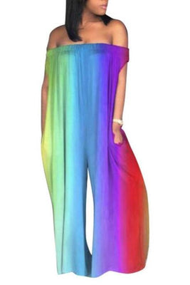 MB fashion Jumpsuit Rainbow 5579