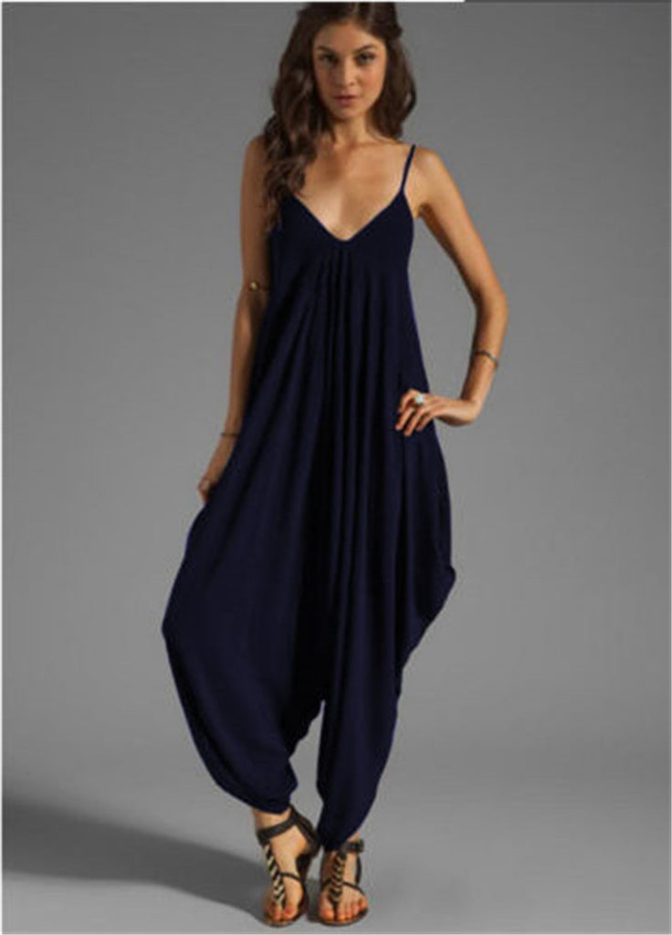 MB fashion Jumpsuit Navy 1047