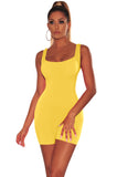MB Fashion YELLOW Skinny Rompers 416