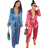 MB fashion Jumpsuit Red mb 3305