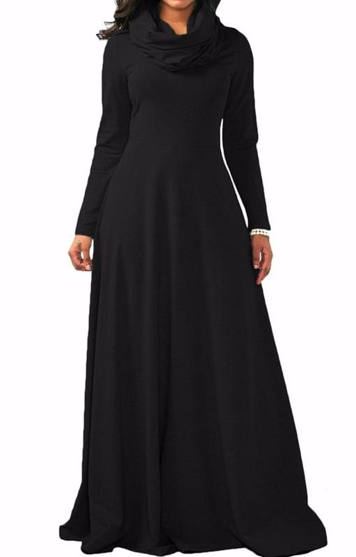 MB fashion Black Dress Outfit mb 3294