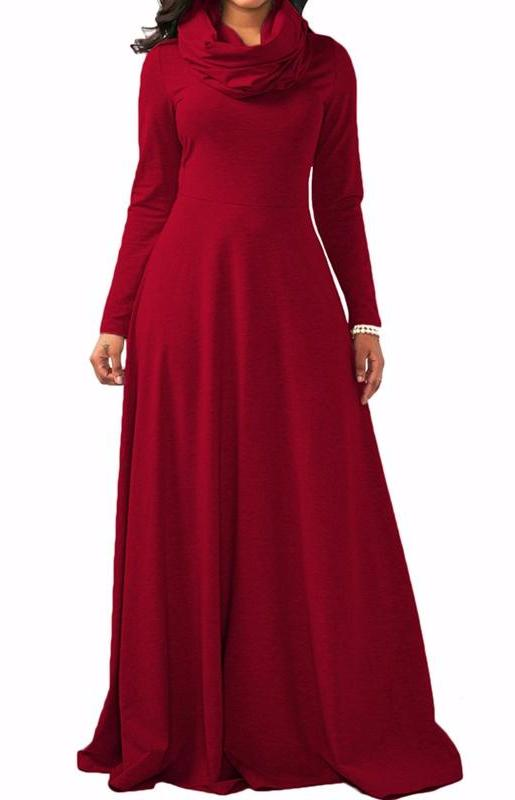 MB fashion Red Dress Outfit mb 3294