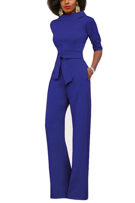 MB Fashion Blue Jumpsuit 3828