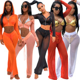 MB fashion RedOrange Sexy 2PCs Set mb 3122