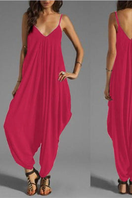 MB fashion Jumpsuit Pink 1047