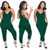 MB fashion Jumpsuit Green 5734