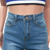 MB Fashion BLUE Short 1357
