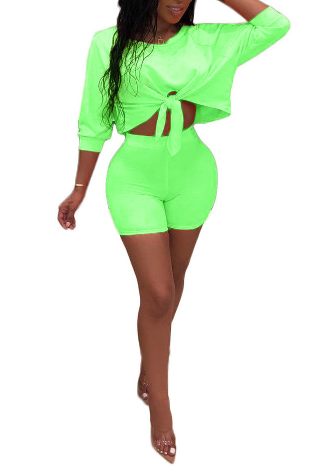 MB Fashion GREEN 2 PCs Set 1672