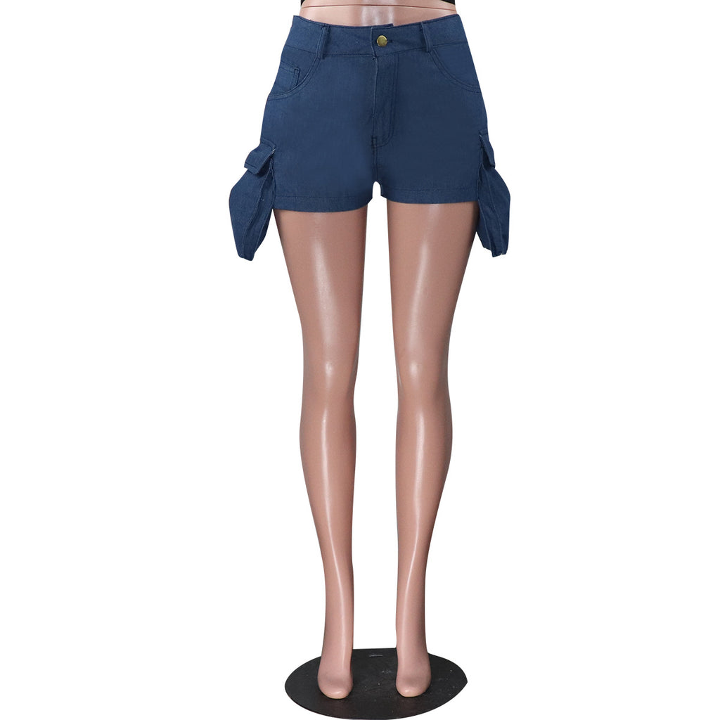 MB Fashion BLUE Shorts 1763