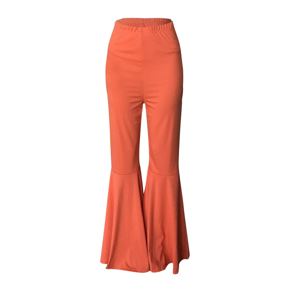 MB Fashion ORANGE Pants 1676