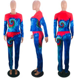 MB Fashion Multi BLUE 2 PCs Set 5049