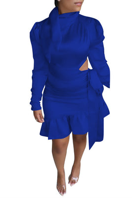 MB Fashion BLUE Dress 5462 MB