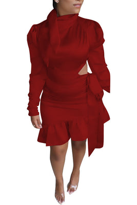 MB Fashion RED Dress 5462 MB
